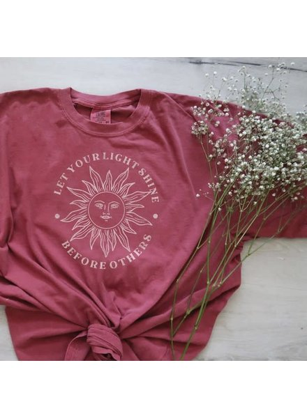 Oat Collective Oat Coll Let Your Light Shine Graphic Tee