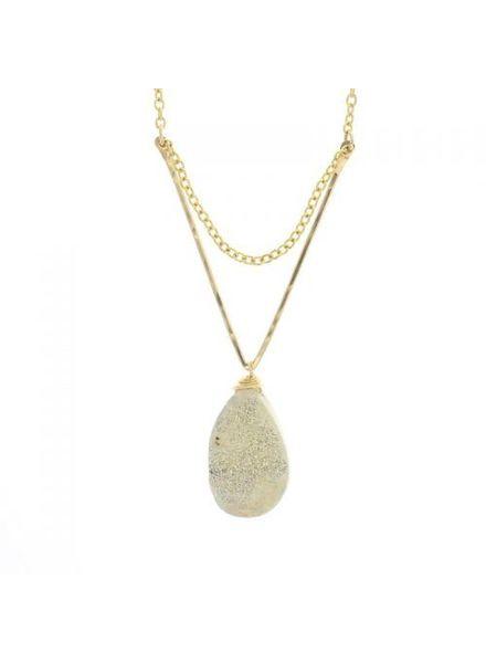 Lotus Lotus Moondust Necklace