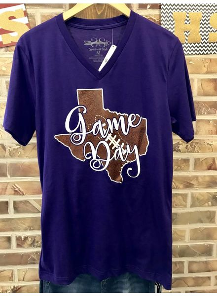 MISC Gameday Texas Football Purple