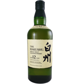 The Hakushu Single Malt Japanese Whisky 12 year
