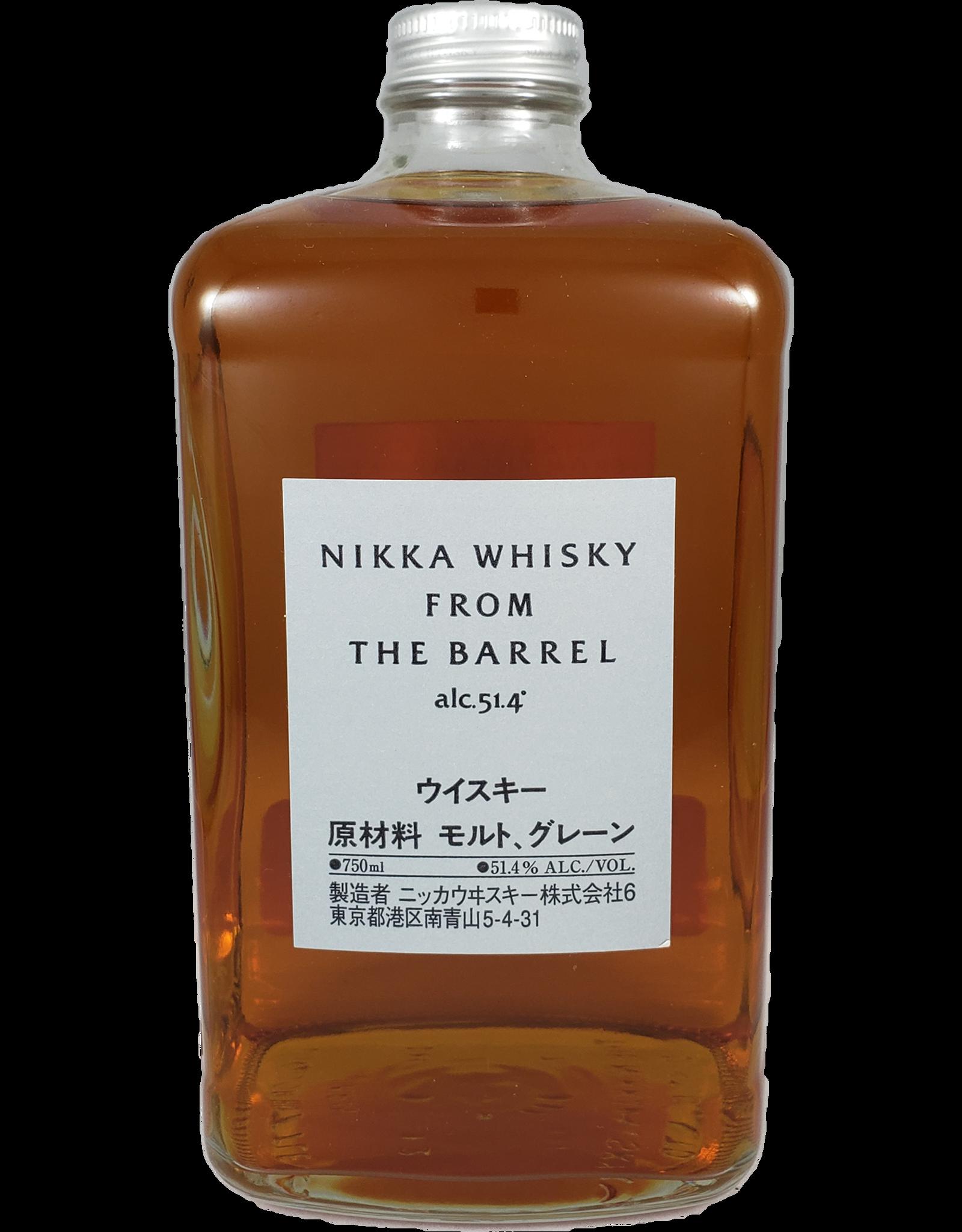 """Nikka Nikka """"From The Barrel"""" Japanese Whisky, Japan"""