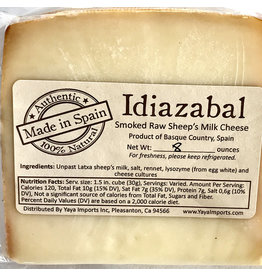 Idiazabal Smoked Sheep