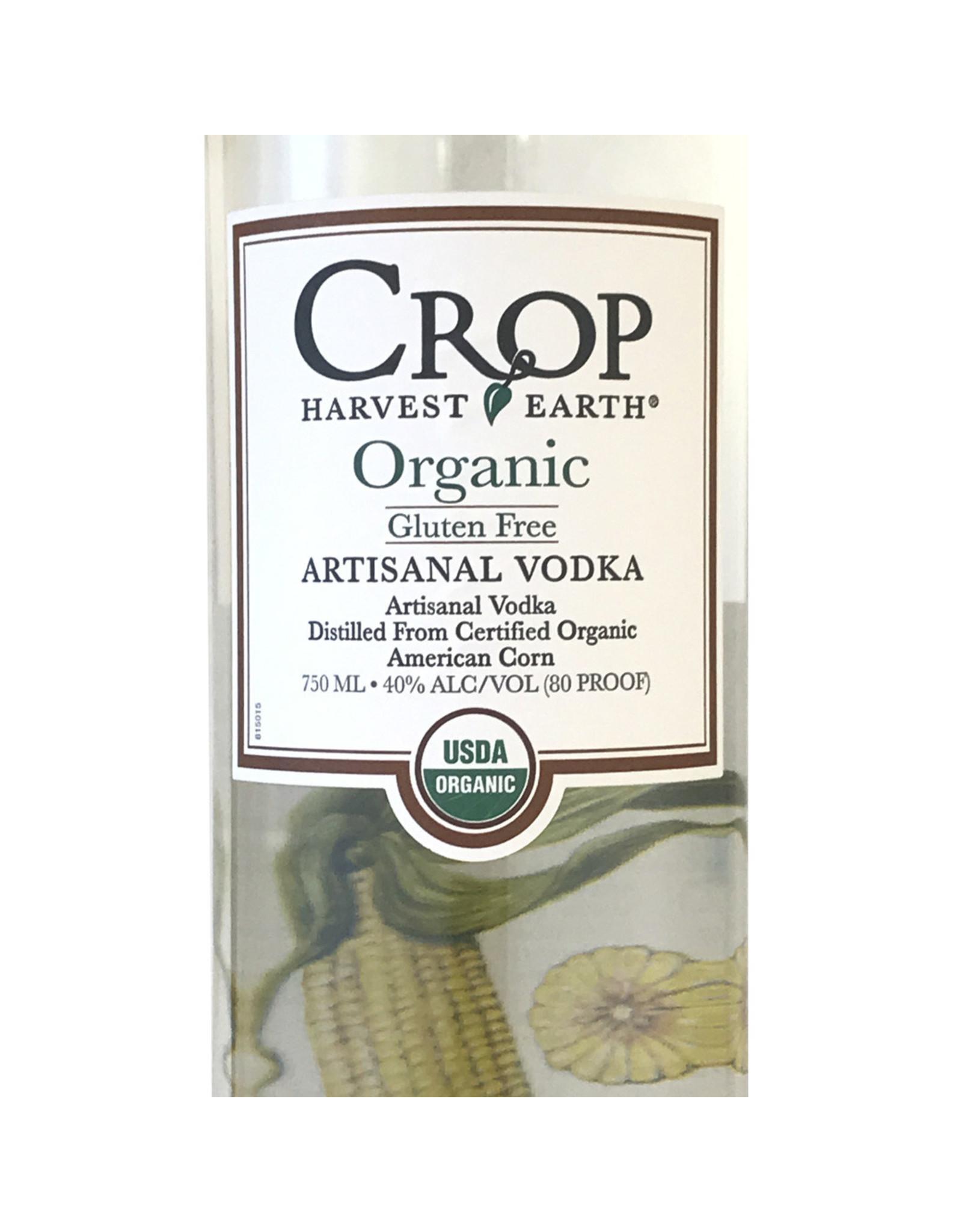 Crop Artisanal Organic Vodka