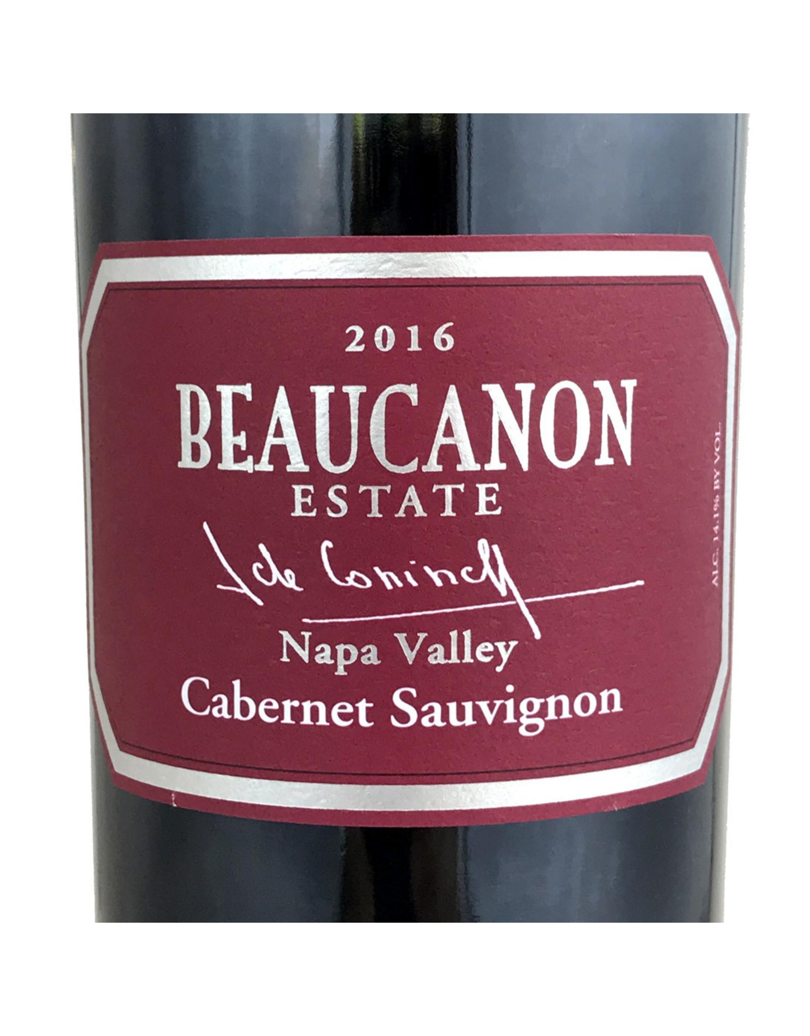 Beaucanon Estate Beaucanon Estate Cabernet Sauvignon Napa 2016