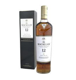 Macallan SHERRY Cask 12 Year Single Malt Scotch