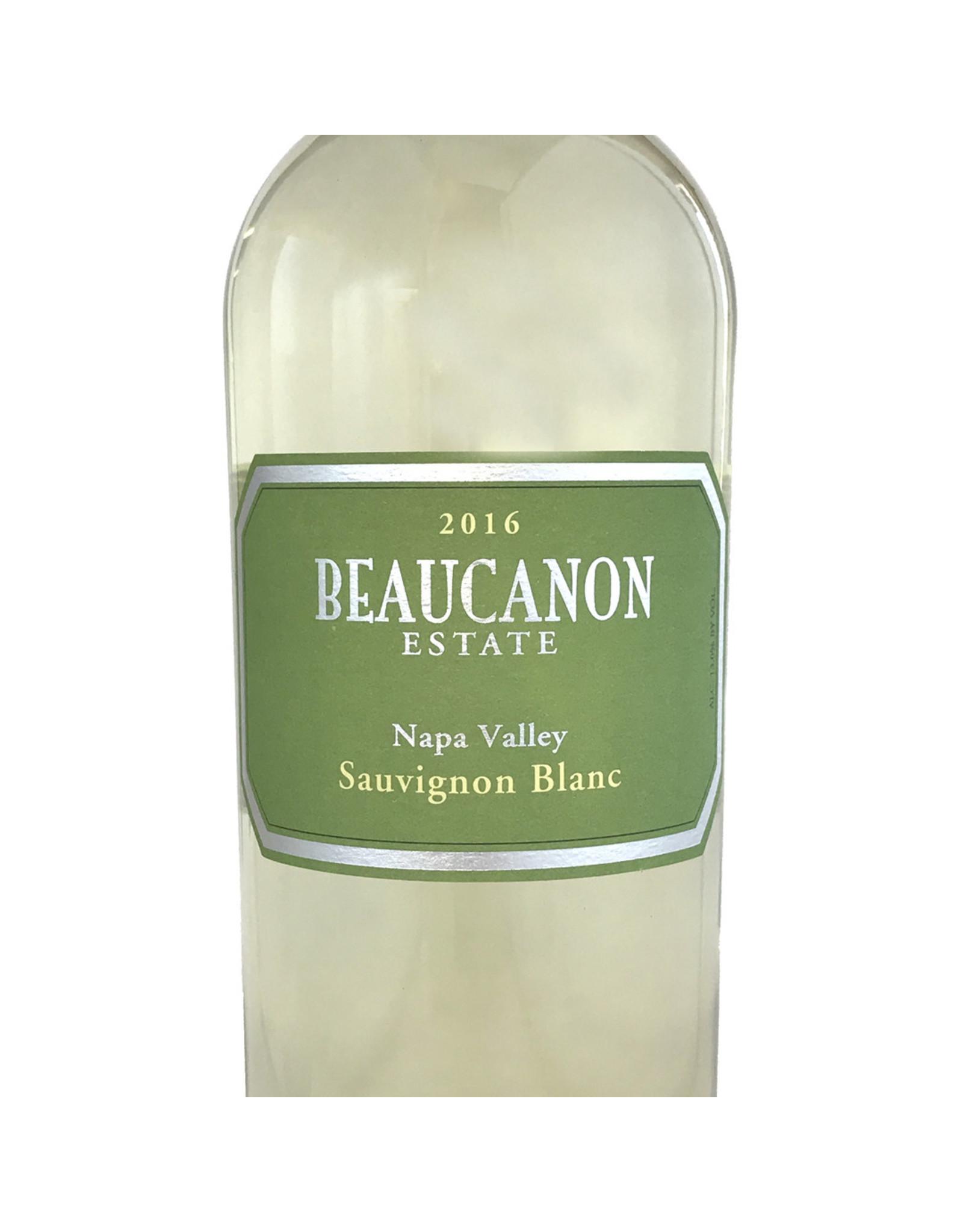 Beaucanon Estate Beaucanon Estate Sauvignon Blanc Napa 2016