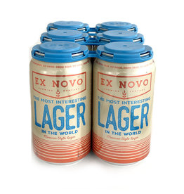Ex Novo Most Interesting Mexican Style Lager - 6 pack