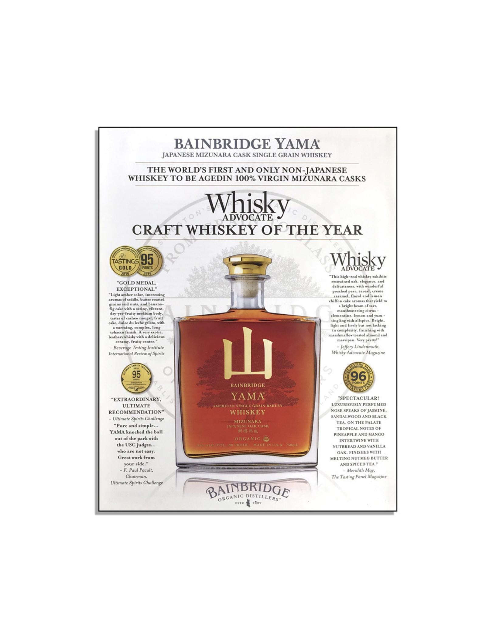 Bainbridge Yama Organic Whiskey