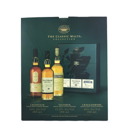 "The Classic Malts ""Strong"" Collection - Lagavulin 16, Talisker 10, Cragganmore 12 (200ml 3pk)"