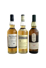 """The Classic Malts """"Strong"""" Collection - Lagavulin 16, Talisker 10, Cragganmore 12 (200ml 3pk)"""