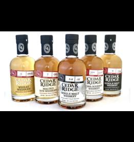 CASE - Cedar Ridge American Whiskey Explorer Tasting Set