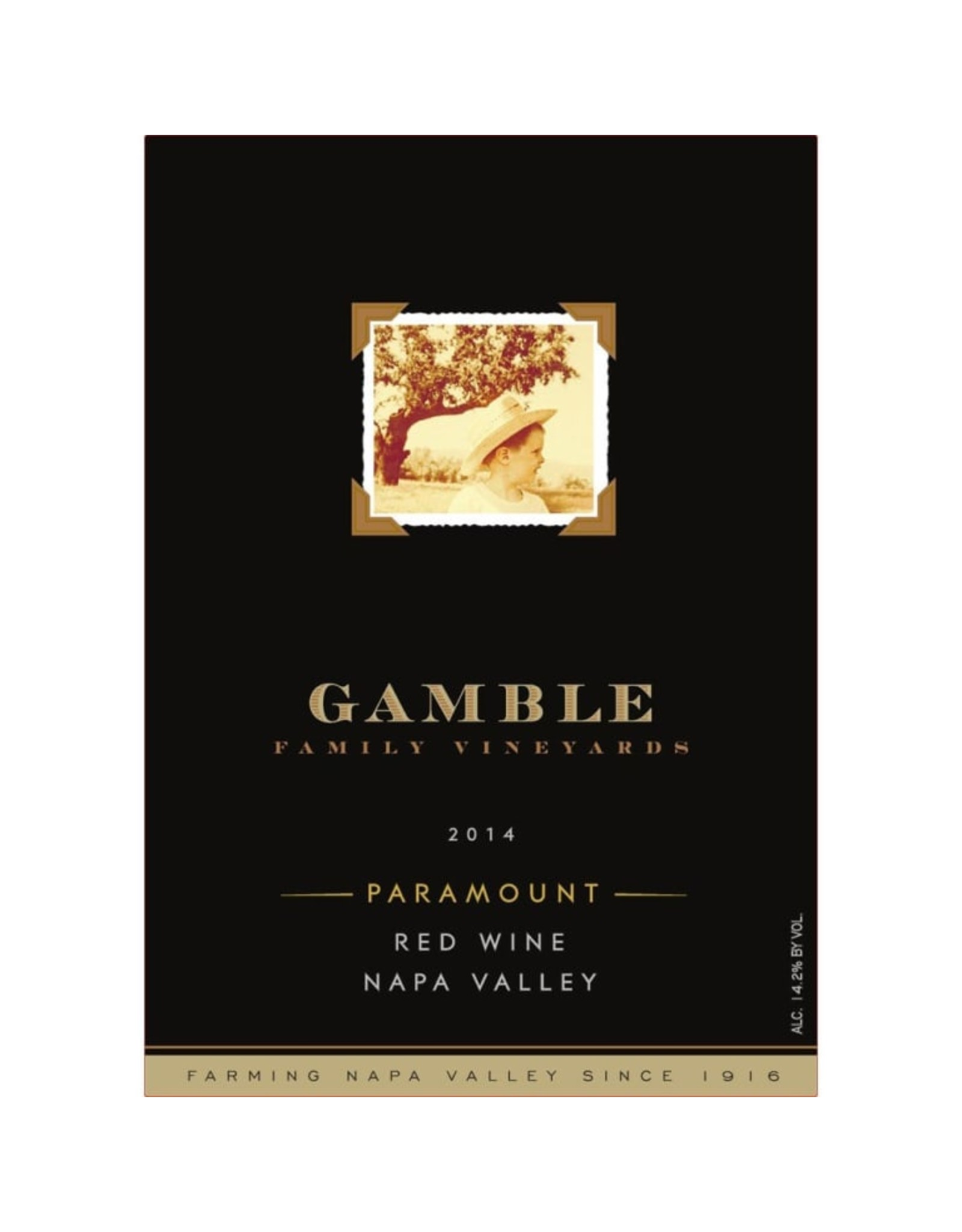 Gamble Family Vineyards Paramount Proprietary Red 2014