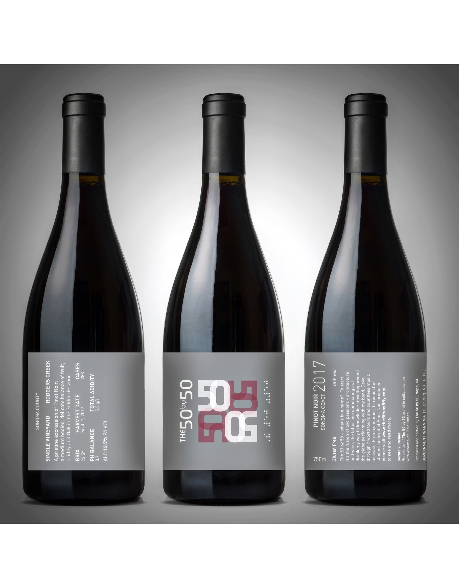 50 by 50 / Devo The 50 by 50 Wine Club FREEDOM OF CHOICE Fall 2019 Release (PN) 6 Bottle/Shipment