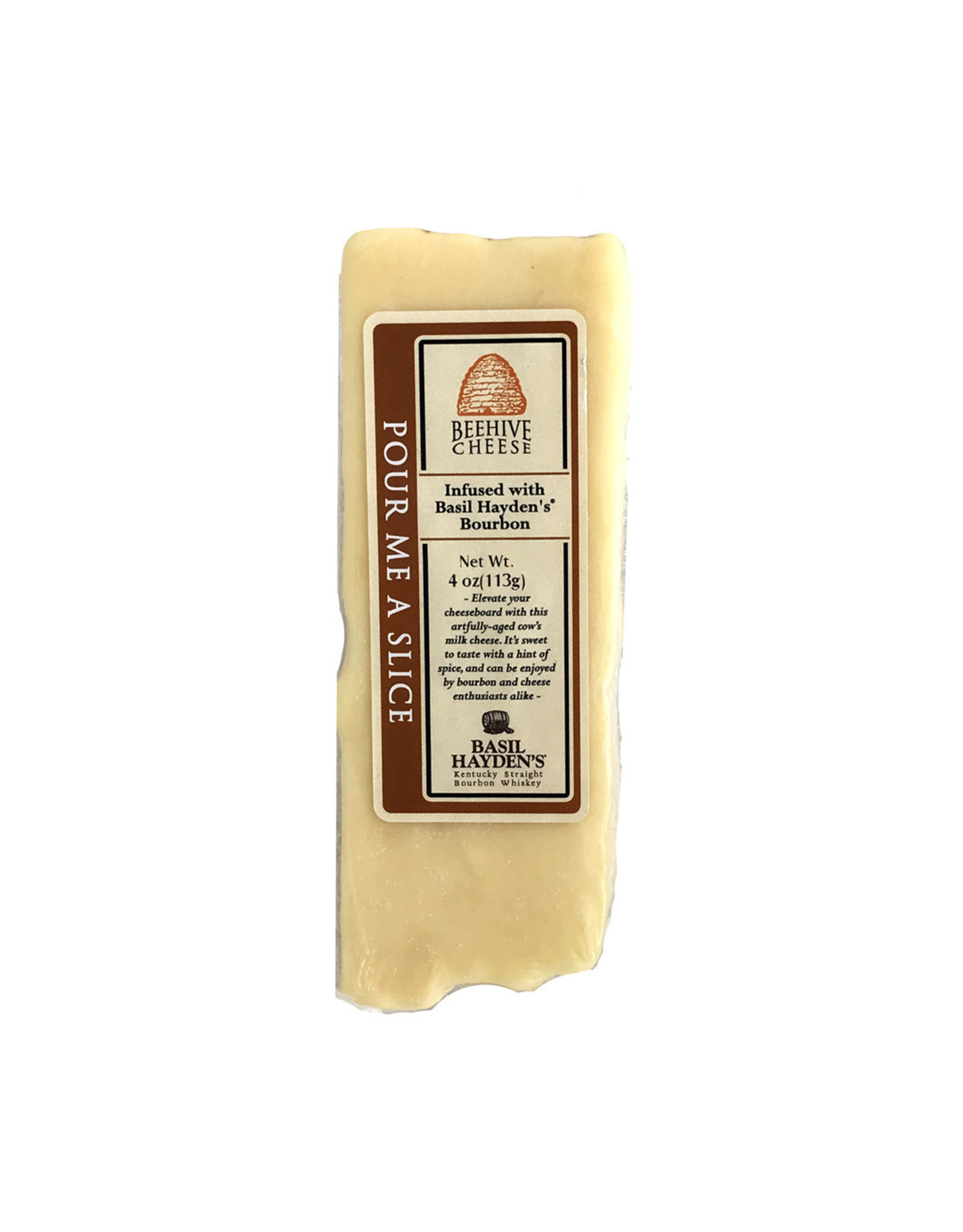 Beehive Cheese Pour Me A Slice with Bourbon
