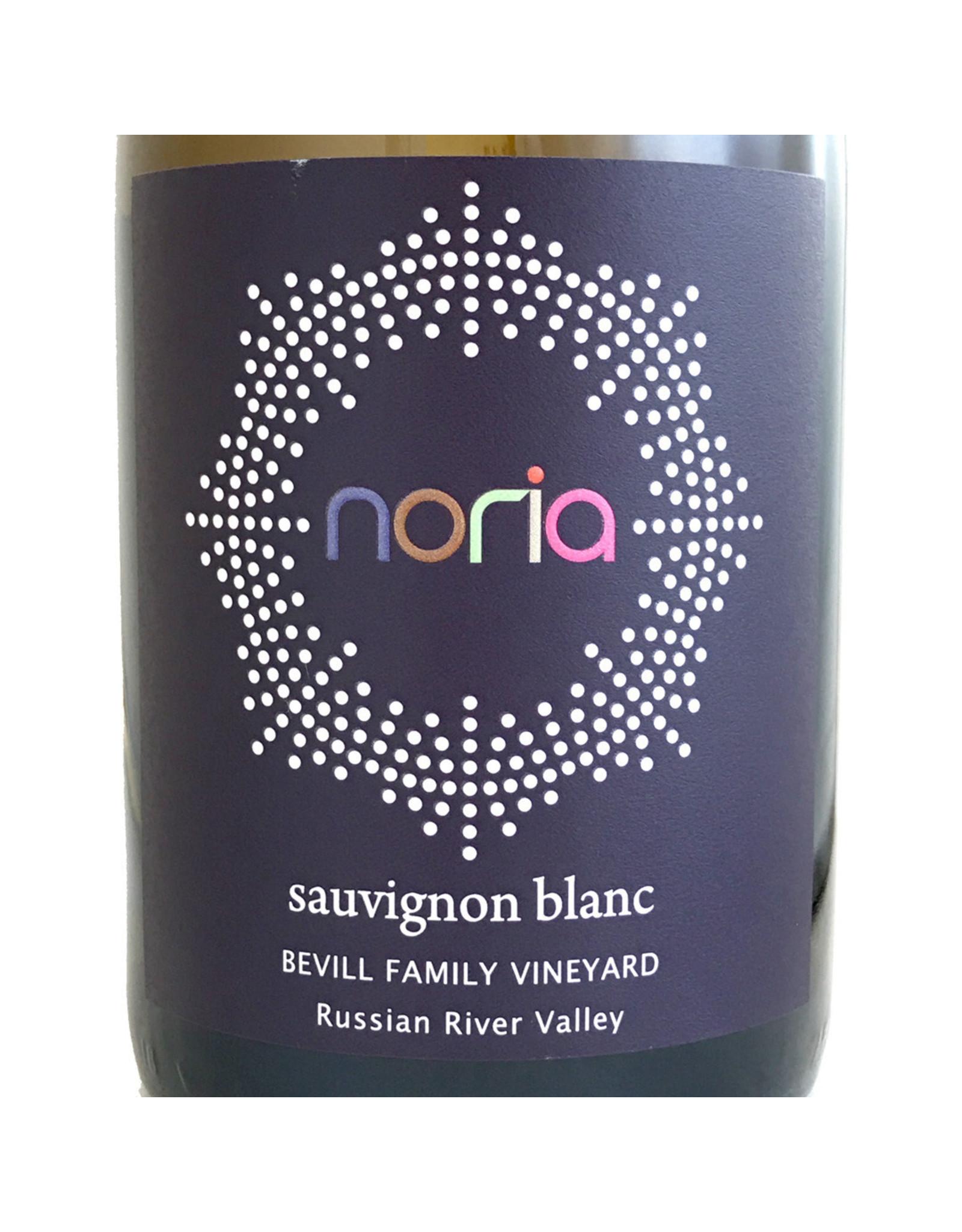 Noria Wines Noria Sauvignon Blanc Bevill Family Vineyard Russian River Valley 2017