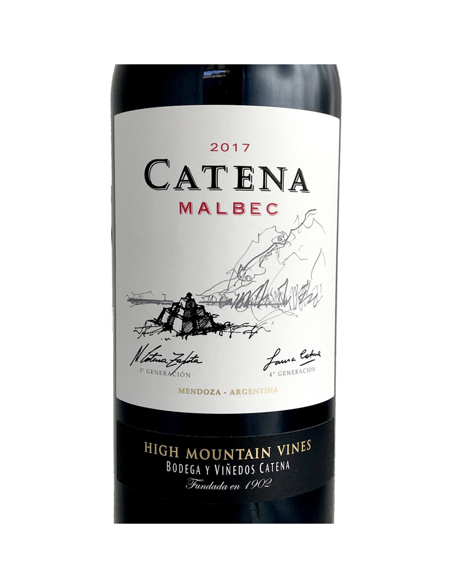 Catena Malbec High Mountain Vines 2017
