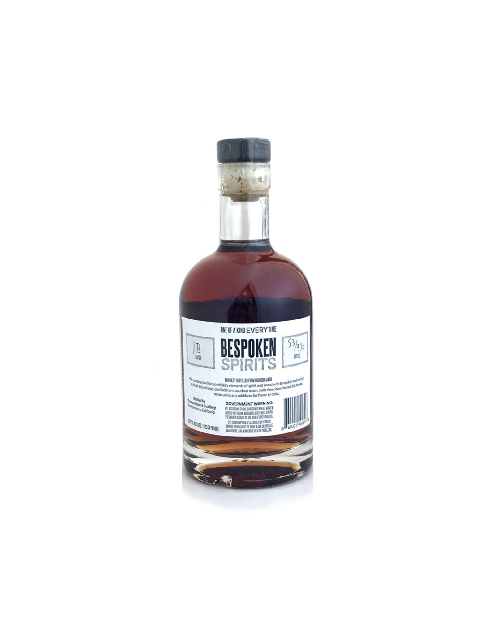 Bespoken Spirits Whiskey From Bourbon Mash Batch 01-B 375ml (Black Label)