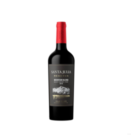 Santa Julia Santa Julia Red Wine Blend Mountain Reserve, Argentina 2018
