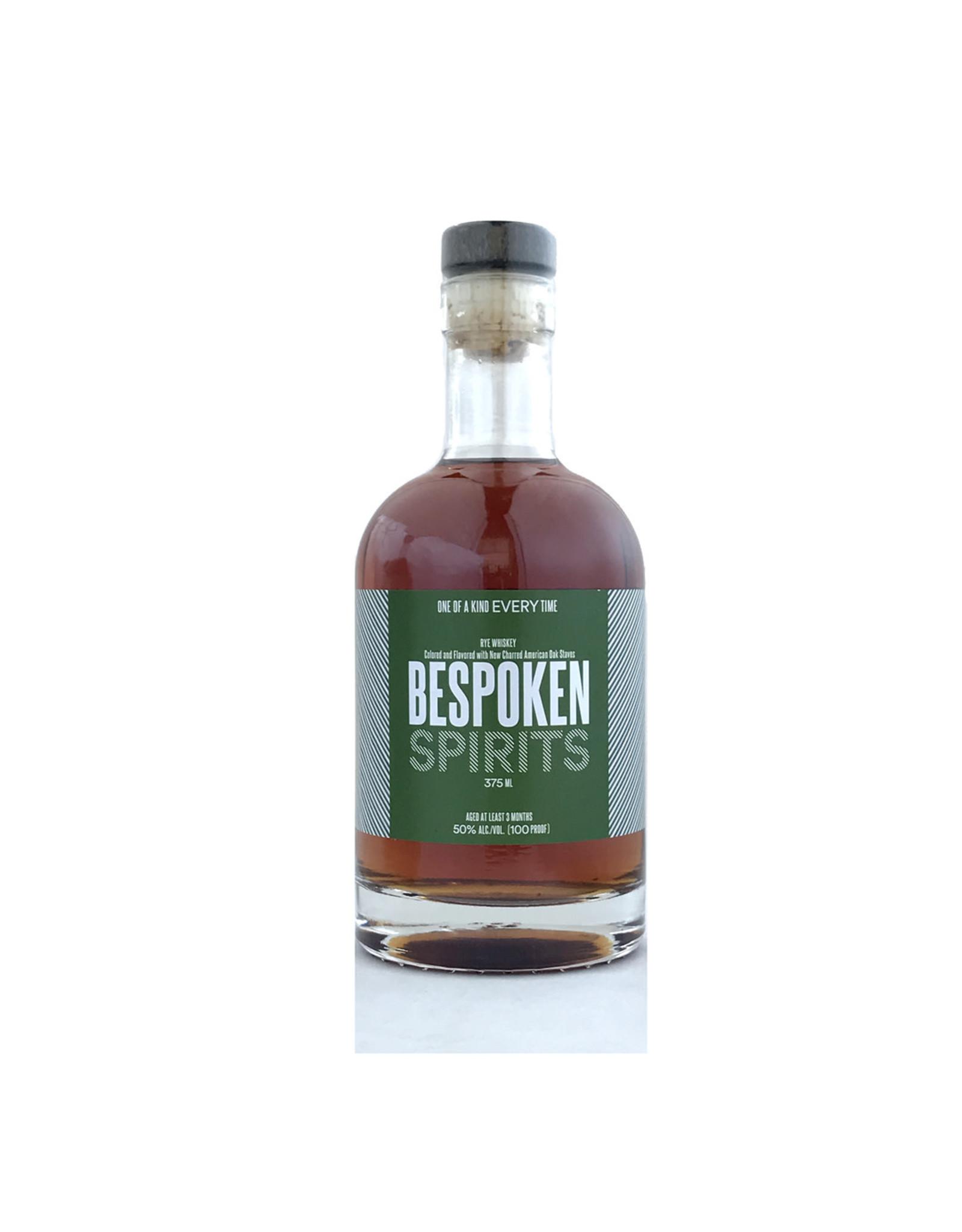 Bespoken Spirits Rye Whiskey  375ml (Green Label)