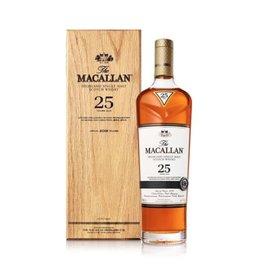 Macallan Sherry Oak 25 Yr. 2019
