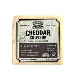 Wood River Creamery Cheddar Black Truffle
