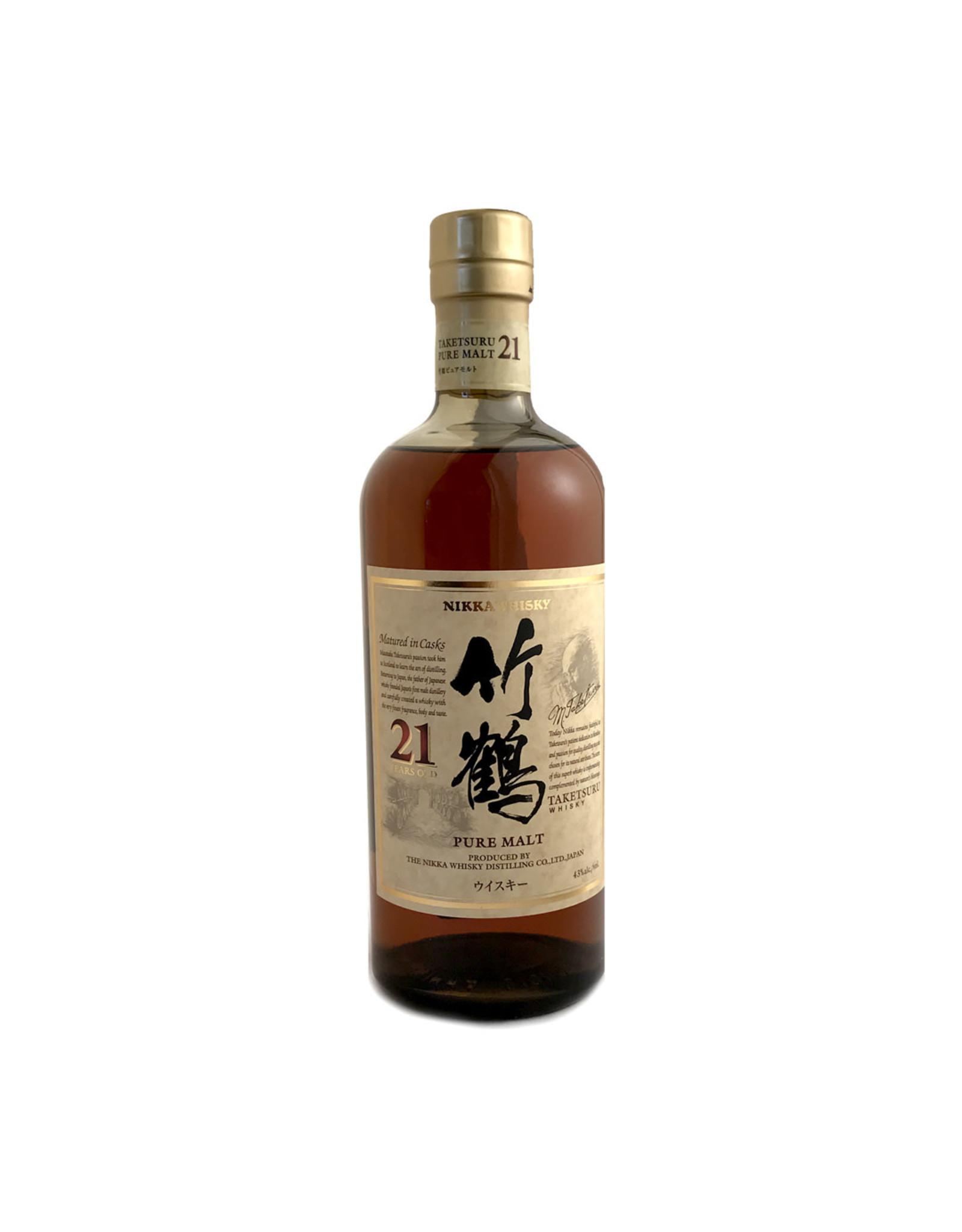 Nikka Nikka Taketsuru Pure Malt 21 Yr