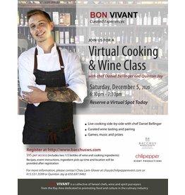 Bon Vivant - Virtual Cooking & Wine Class 12/05/20