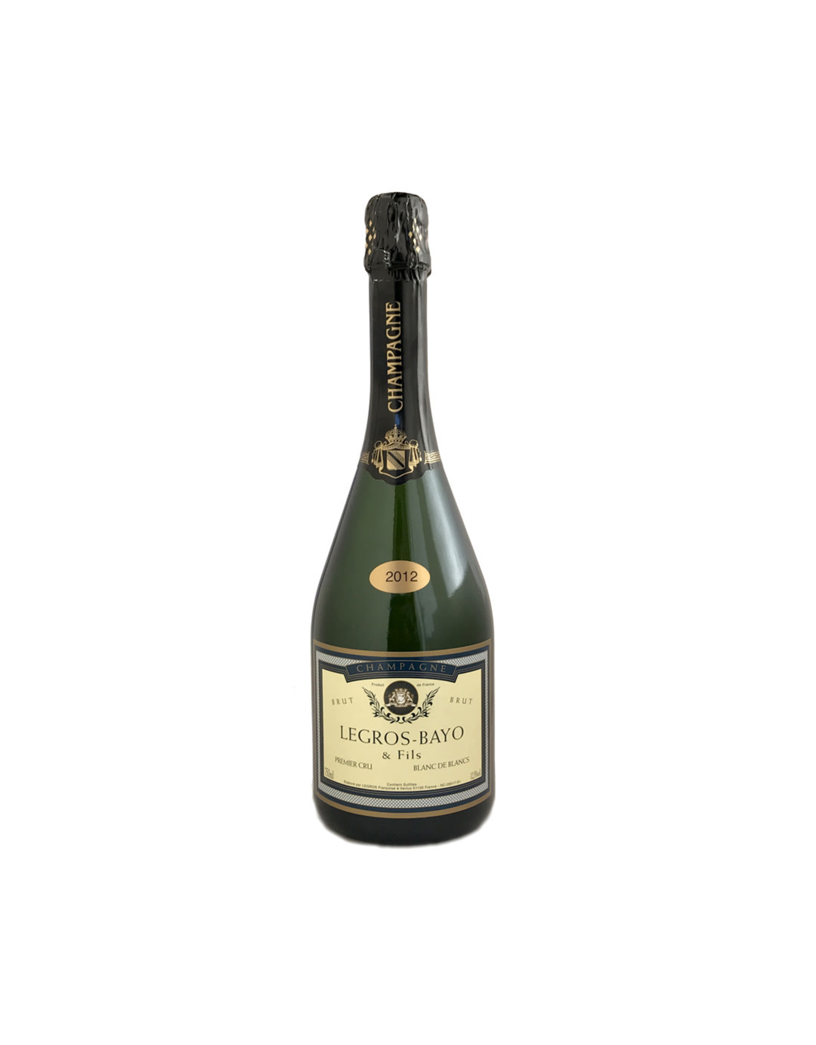 Legros Bayo & Fils Premier Cru Champagne 2012