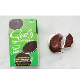Seely Mints Seely GABLE BOX (5 Patties) Dark Chocolate Mint Patties
