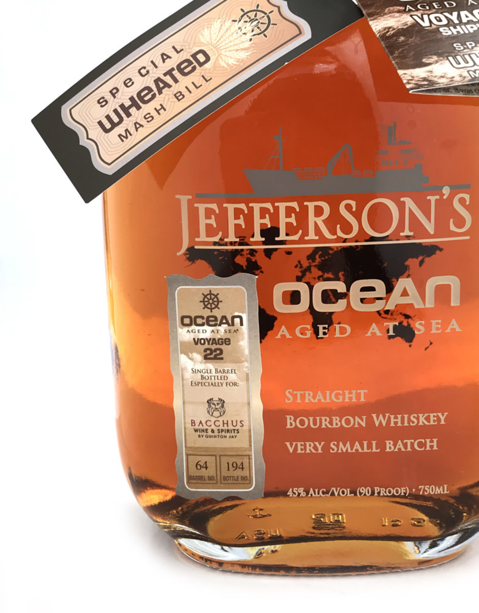 Jefferson's Ocean Voyage #22 Bacchus Barrel #01