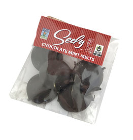 Seely Mint Melts Dark Chocolate