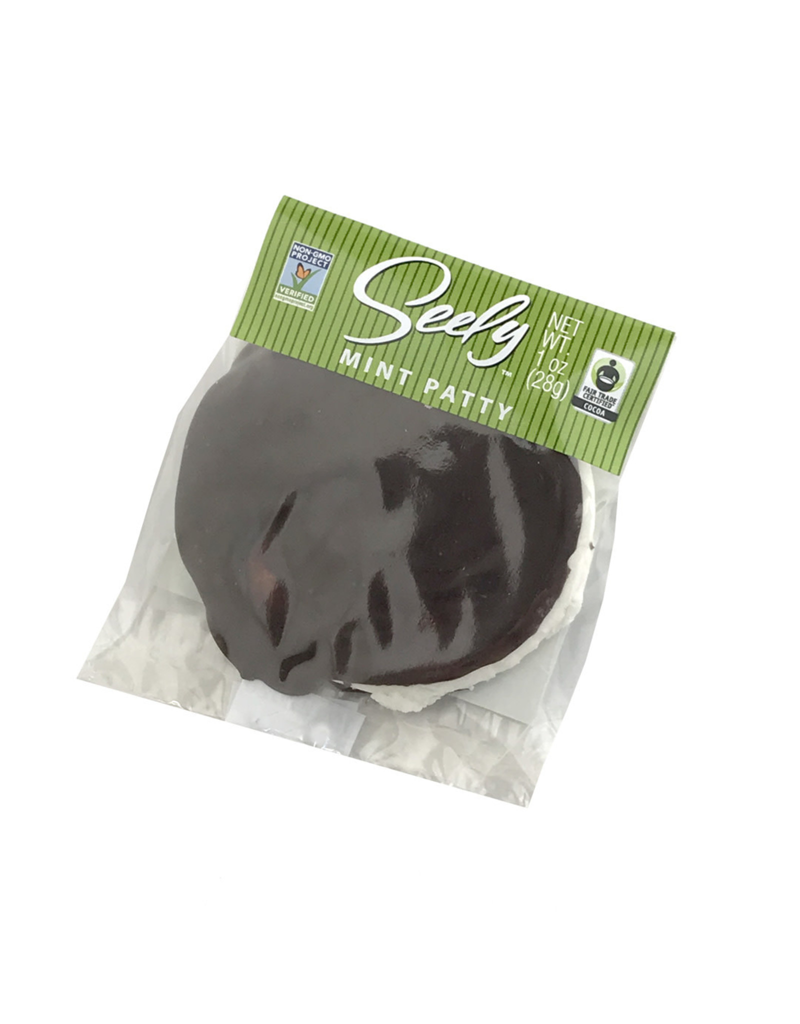 Seely Mints Seely INDIVIDUAL (1 Patty) Dark Chocolate Mint Patties