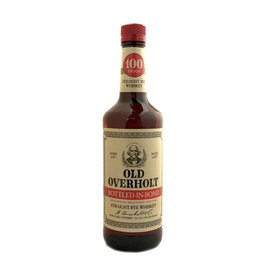 Old Overholt 'BONDED' Straight Rye Whiskey Whiskey Advocate 2020 #12