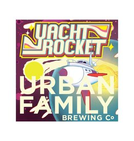 Urban Family Beer Yacht Rocket  Passion Fruit Coconut Sour Ale