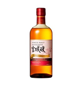 Nikka 2020 Nikka 'Miyagikyo' 100th Anniversary Apple Brandy Wood Finish Single Malt Japanese Whisky