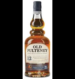 Old Pulteney Single Malt Scotch 12 Year Old
