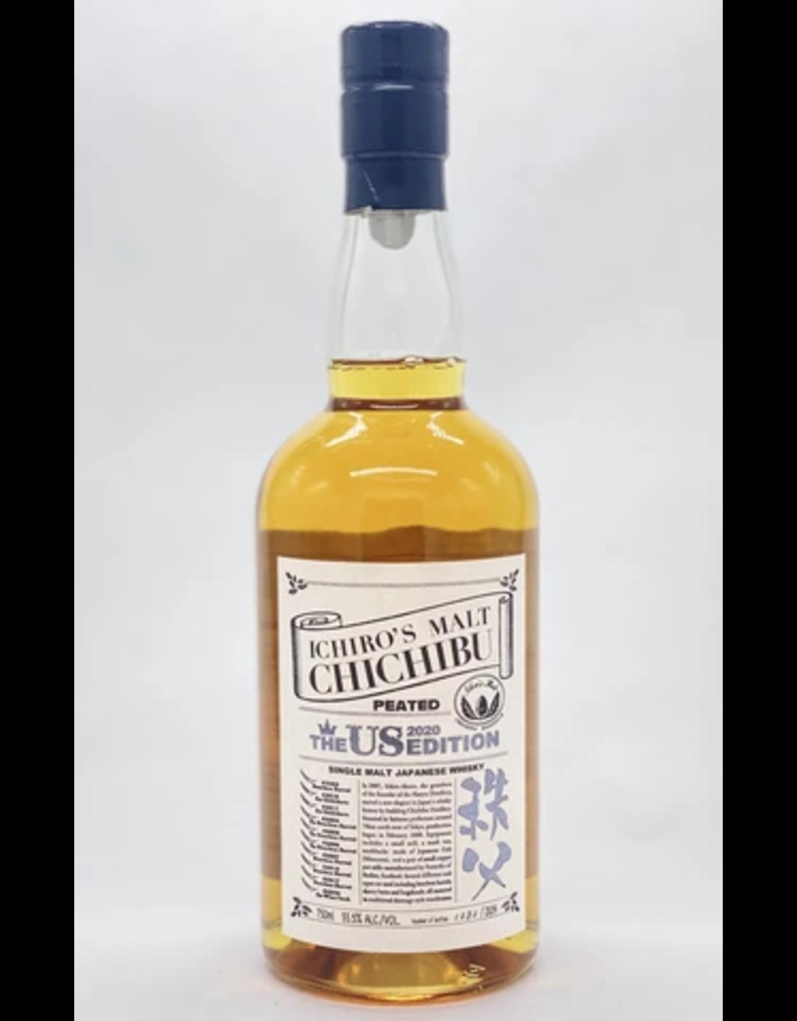 Ichiro's Ichiro's Malt Chichibu Peated The US Edition Single Malt Japanese Whisky 2020