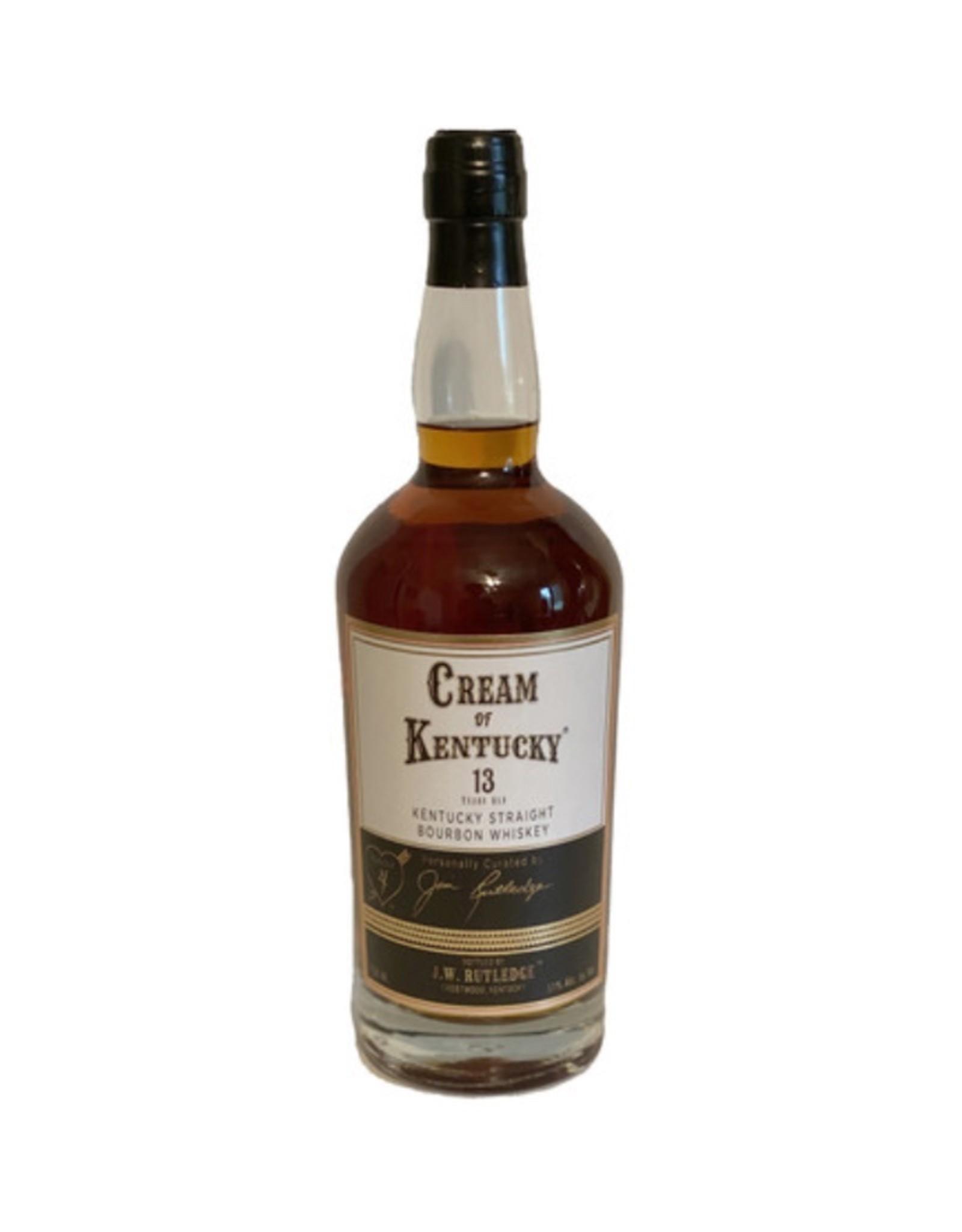 Cream of Kentucky by J. W. Rutledge #5 Straight Bourbon 13 Year