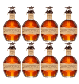 Blanton's Single Barrel - Complete Collectors Set - 8 Bottles