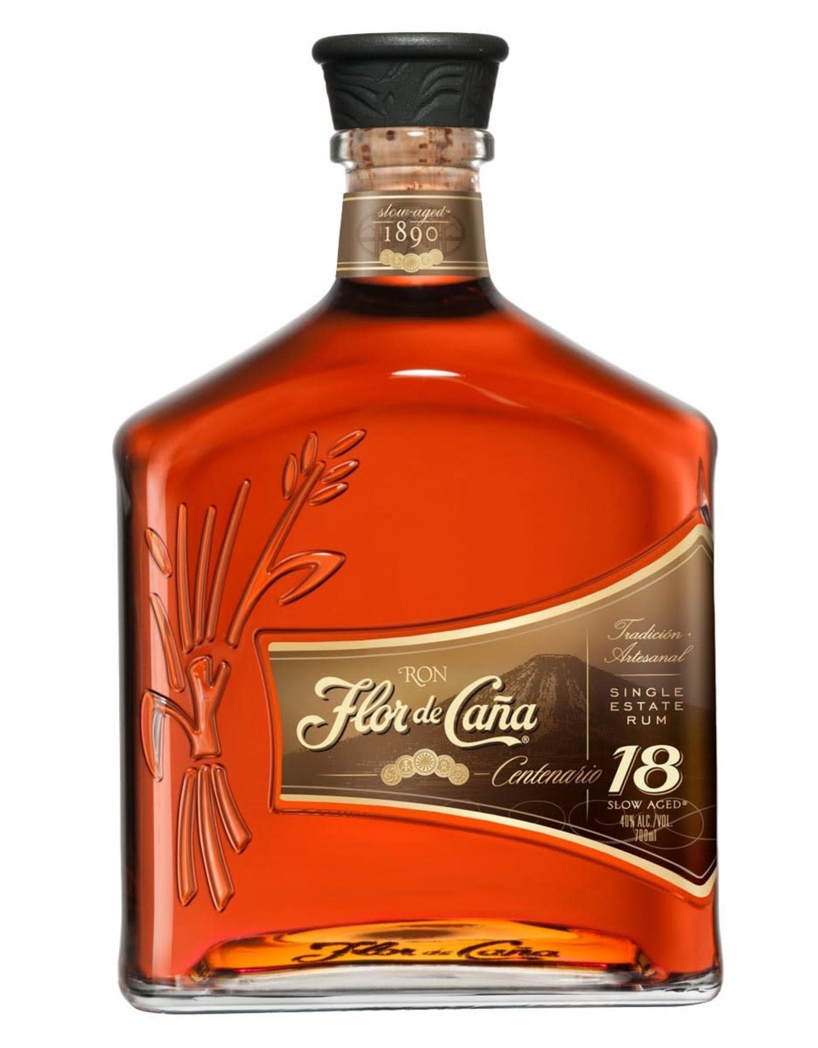 Flor de Caña 18 Year Centenario Gold Rum