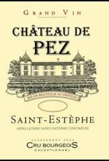 Chateau de Pez, Saint-Estephe, Medoc, 2016