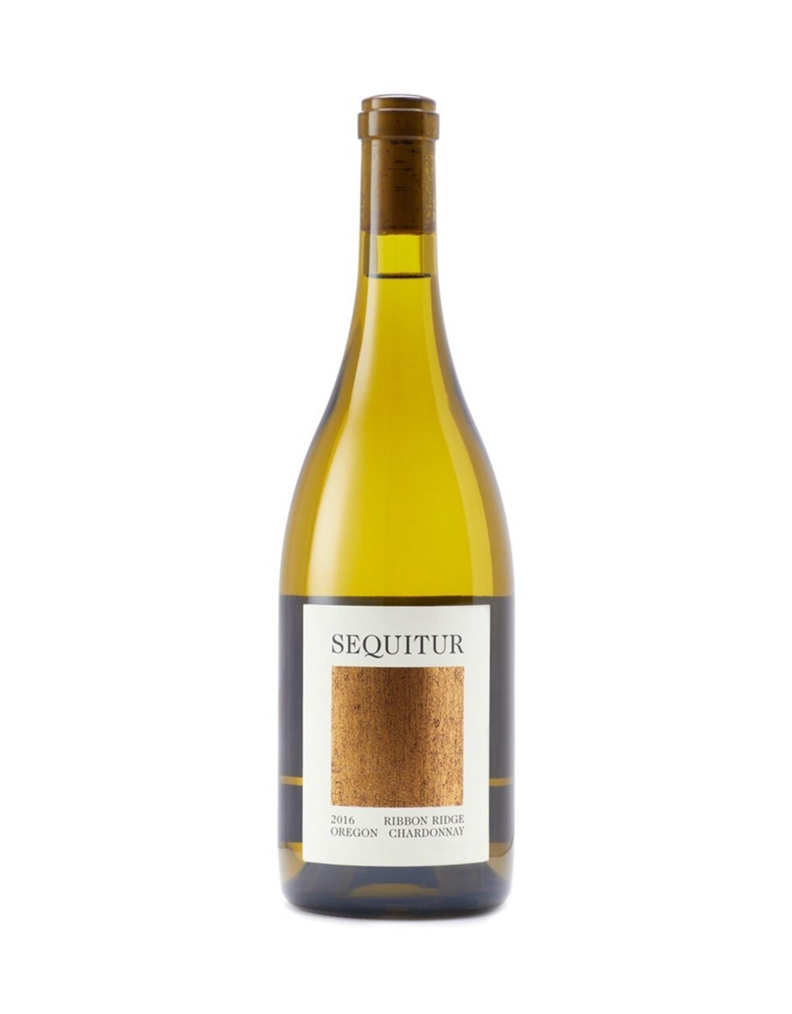 Sequitur Chardonnay Ribbon Ridge Oregon 2016