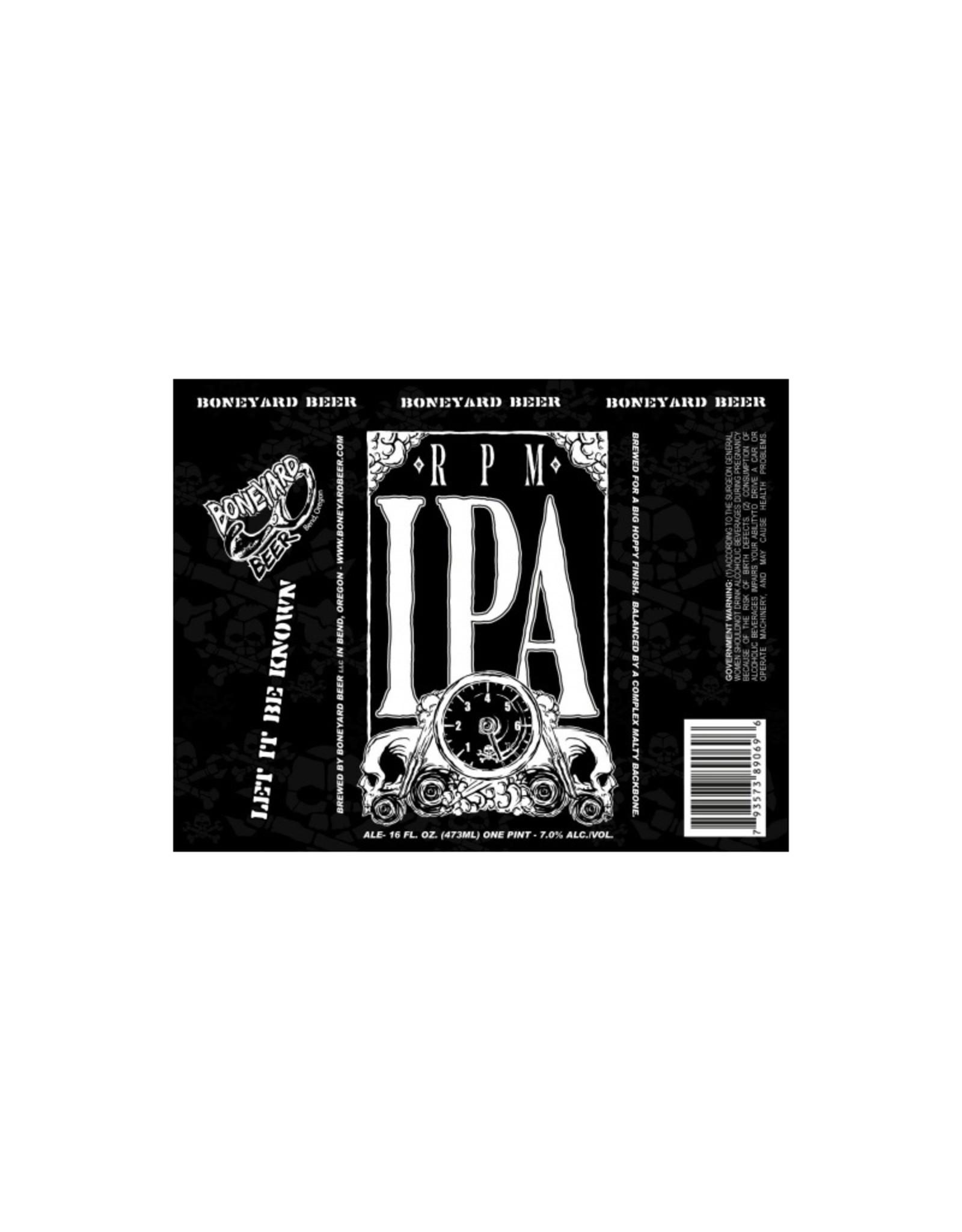 Boneyard Beer RPM IPA