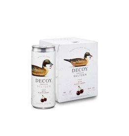 Duckhorn Decoy Seltzer Rose Cherry 4PK