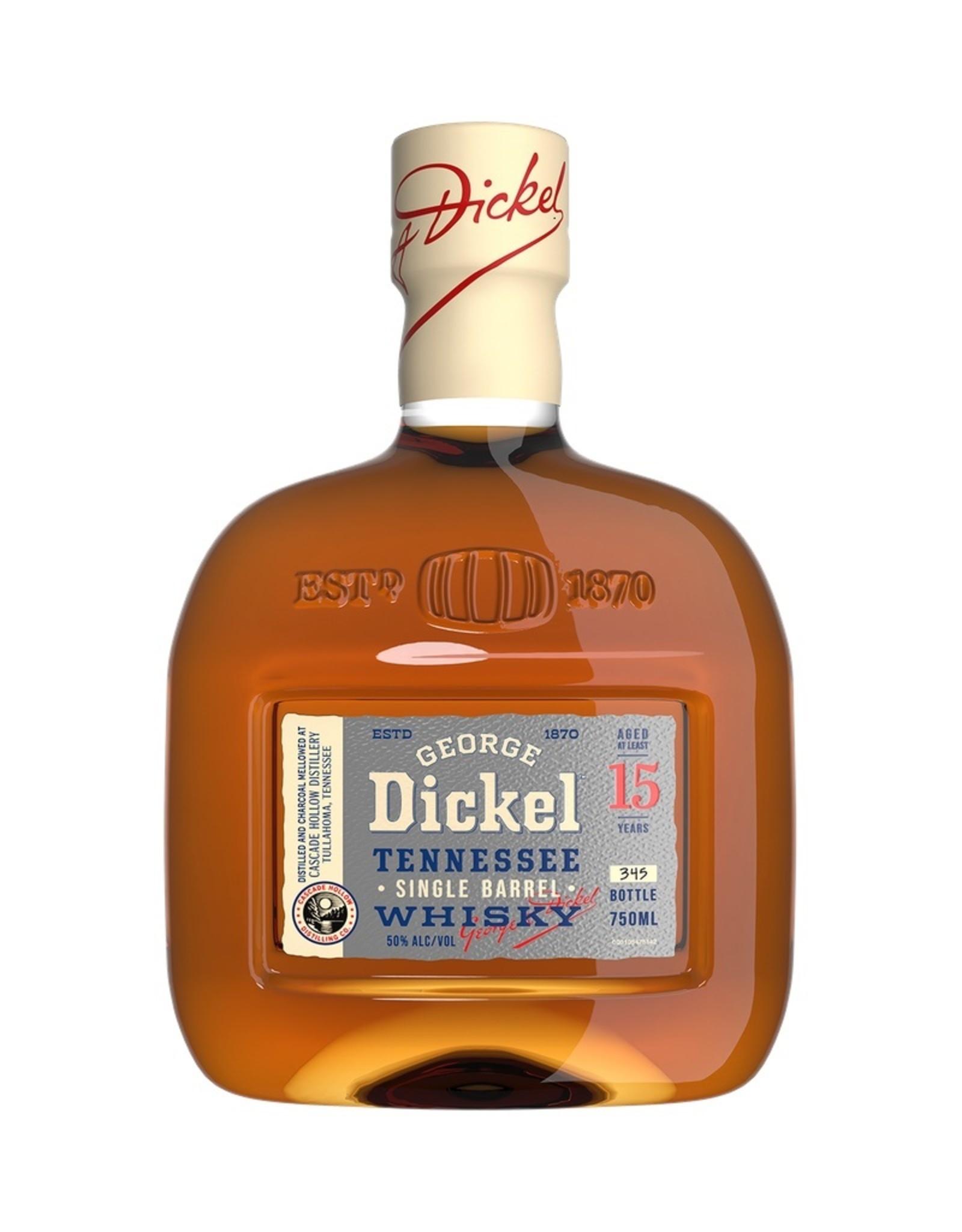 George Dickel SINGLE BARREL Tennessee Whisky  15YO