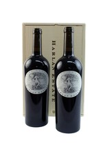 2 BOTTLE WOOD BOX - Harlan Estate, Red Wine Blend, Napa Valley, 2010  2 BOTTLE WOOD BOX
