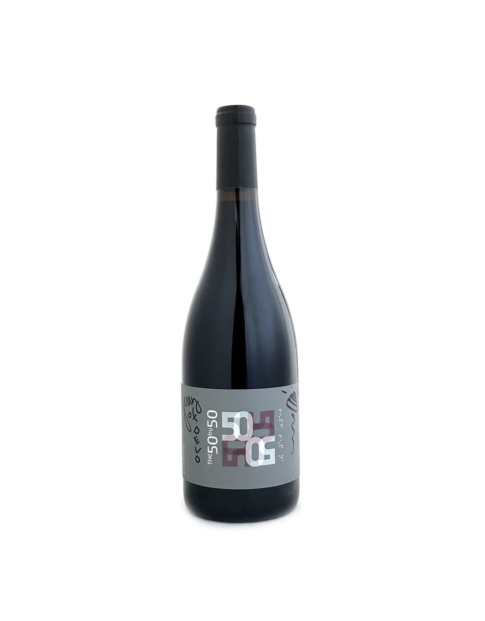 50 by 50 / Devo AUTOGRAPHED The  50 by 50 Pinot Noir Rodgers Creek Sonoma Coast 2017 AUTOGRAPHED