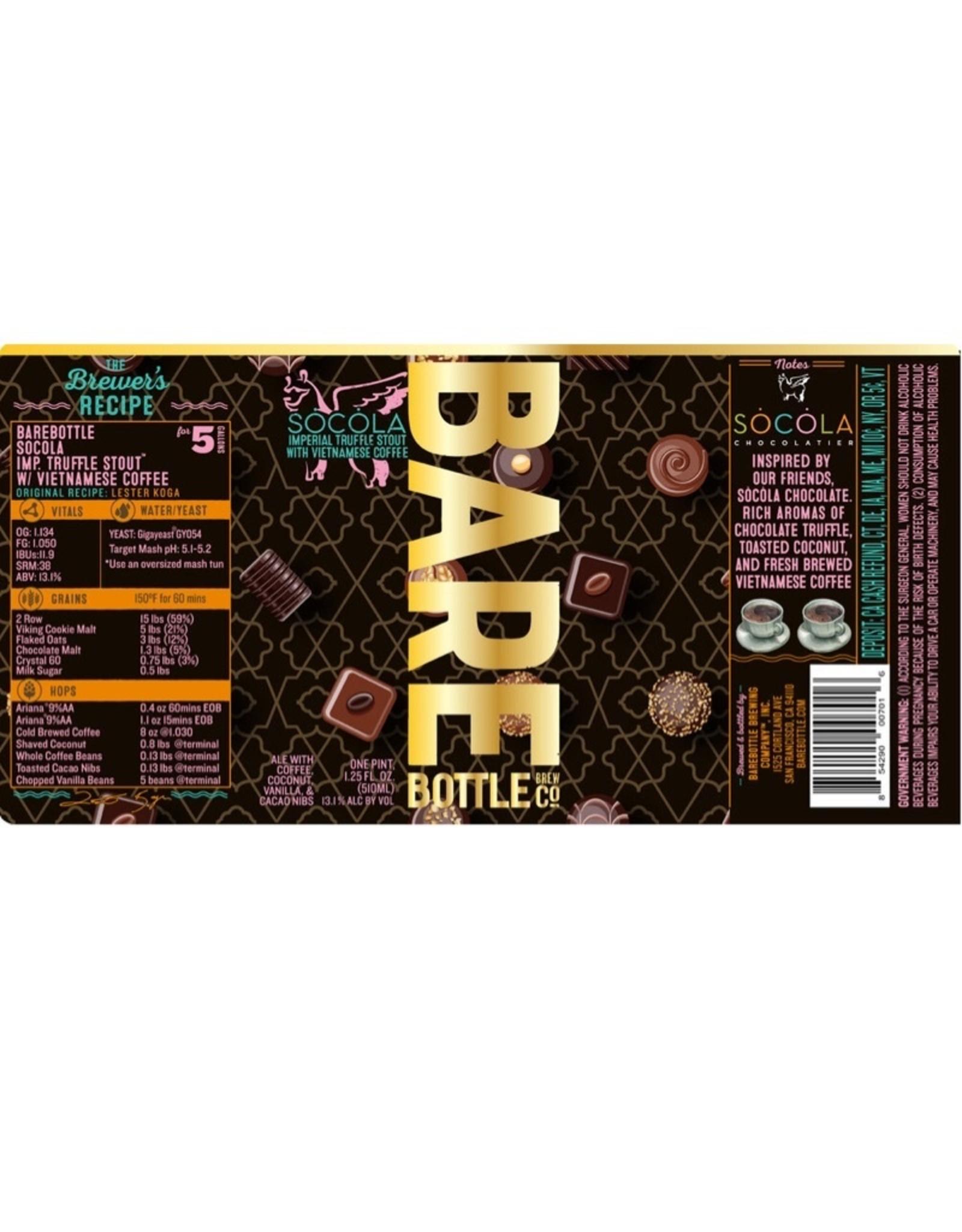 Bare Bottle Socola Imp. Truffle Stout
