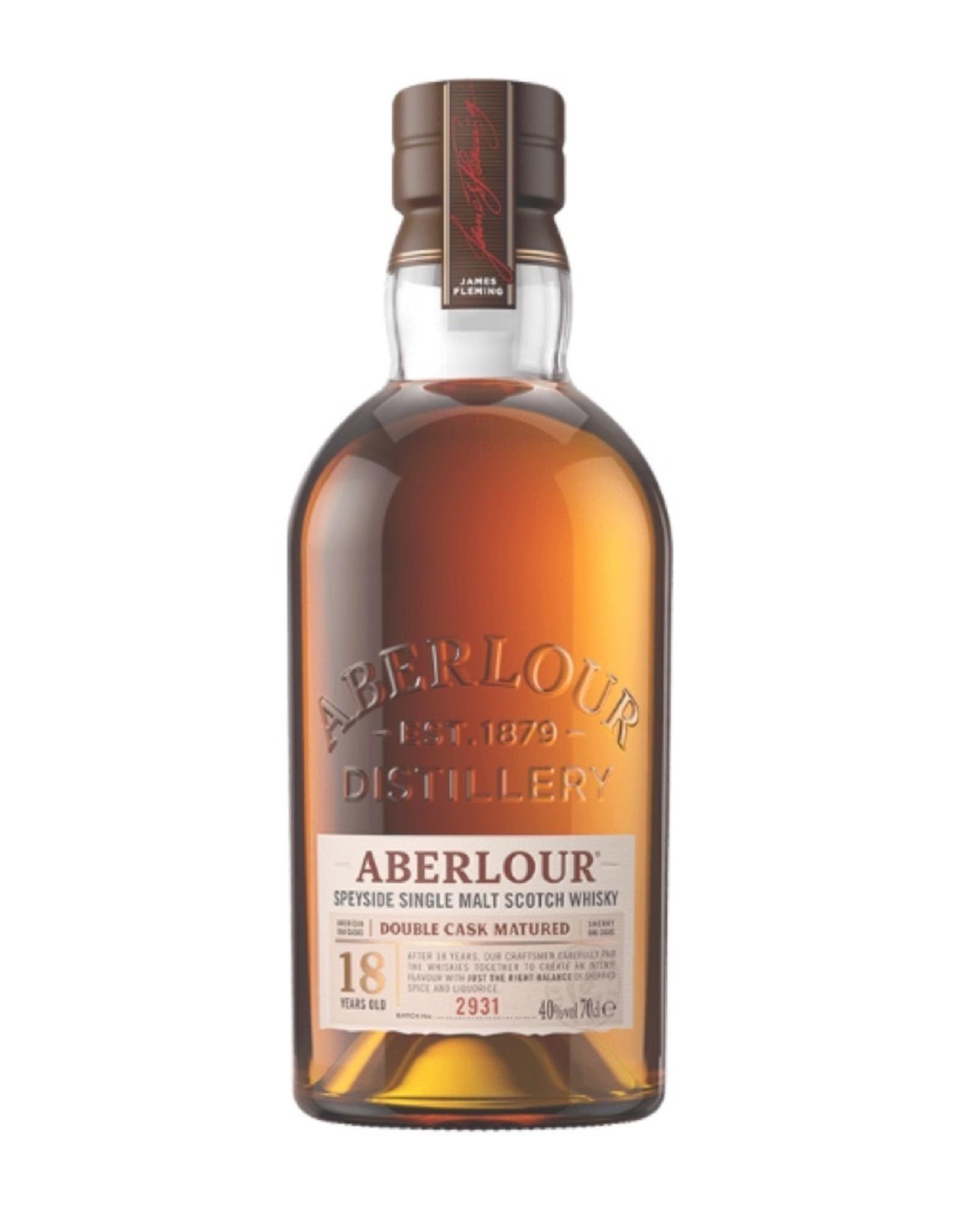 Aberlour 18 Yr. Speyside Single Malt Scotch