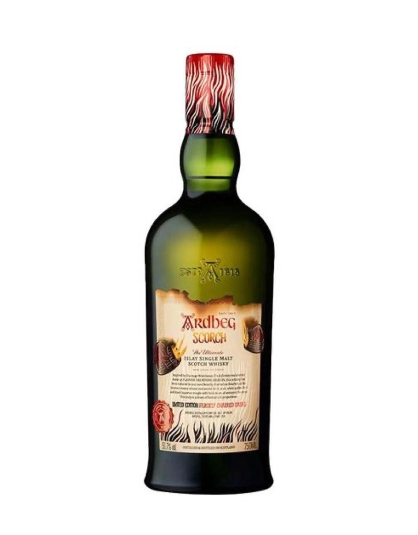 "Ardbeg ""SCORCH"" Single Malt, Scotch, Islay, Scotland 103.4pf"